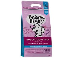 Barking Heads Doggylicious Duck (Small breed) 4 kg - Granule pro psy