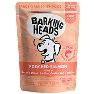 Kapsička pro psy Barking Heads Pooched Salmon kapsička 300 g