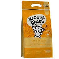 Meowing Heads Fat Cat Slim NEW 1,5 kg - Granule pro kočky