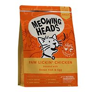 Meowing Heads Paw Lickin' Chicken 4kg - Granule pro kočky