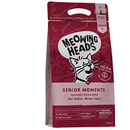 Meowing Heads Senior Moments NEW 1,5 kg - Granule pro kočky