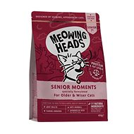 Meowing Heads Senior Moments NEW 450g - Granule pro kočky
