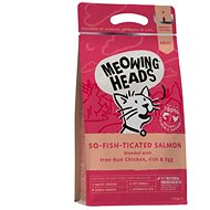 Meowing Heads So-fish-ticated Salmon 1,5 kg - Granule pro kočky