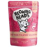 Meowing Heads So-fish-ticated Salmon kapsička 100 g - Kapsička pro kočky