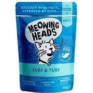 Meowing Heads Surf & Turf kapsička 100 g - Kapsička pro kočky