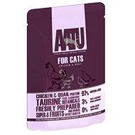 AATU Cat Chicken´n Quail kaps. 85 g - Kapsička pro kočky