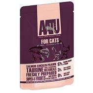 AATU Cat Salmon´n Chicken n Prawn kaps. 85 g - Kapsička pro kočky