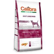 Calibra Dog GF Adult Large Breed Salmon 12kg - Granule pro psy
