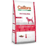 Calibra Dog GF Adult Small Breed Duck 7kg - Granule pro psy