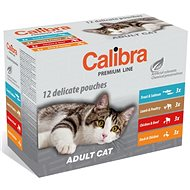 Calibra Cat  kapsa Premium Adult multipack 12 × 100g - Kapsička pro kočky
