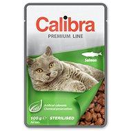 Calibra Cat  kapsa Premium Sterilised Salmon 100g - Kapsička pro kočky