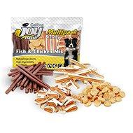 Calibra Joy Dog Multipack Fish & Chicken Mix 4 × 70 g  - Pamlsky pro psy