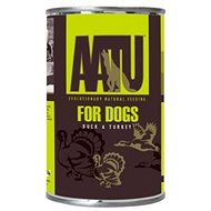 AATU Dog Duck n Turkey konzerva 400 g - Konzerva pro psy