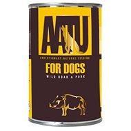 AATU Dog Wild Boar n Pork konzerva 400 g - Konzerva pro psy