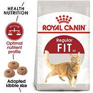 Royal Canin Fit 4 kg - Granule pro kočky