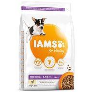 IAMS Dog Puppy Small & Medium Chicken 3kg - Kibble for Puppies