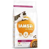 IAMS Cat Senior Chicken 2kg - Granule pro kočky