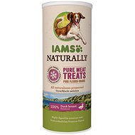 IAMS Naturally DOG mrazem sušené 100% kachní kostky 50 g - Pamlsky pro psy