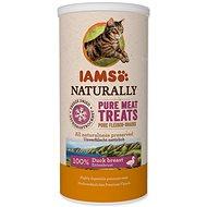 IAMS Naturally CAT mrazem sušené 100% kachní kostky 25 g - Pamlsky pro kočky