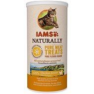 IAMS Naturally CAT mrazem sušené 100% kuřecí kostky 25 g - Pamlsky pro kočky