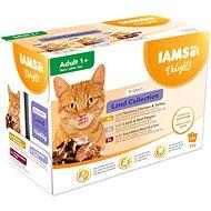 Kapsičky IAMS suchozem. maso v omáčce multipack 1020 g (12 × 85 g)