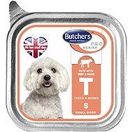 Butcher´s Vanička s hovězím masem a zvěřinou PATE 150 g - Vanička pro psy