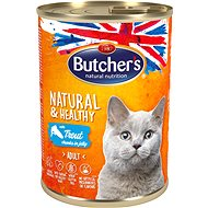 Butcher's Classic Can with Trout, 400g - Canned Food for Cats