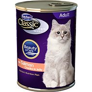 Butcher's Classic Pro Series Salmon Chunks in Jelly 400g - Canned Food for Cats