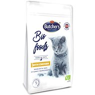 Butcher';s Organic Cat Food with Chicken, 800g - Kibble for Cats