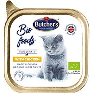 Butcher's Bio Cat Tray with Chicken, 85g - Cat Food in Tray