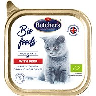 Butcher's Bio Cat Tray with Beef, 85g - Cat Food in Tray