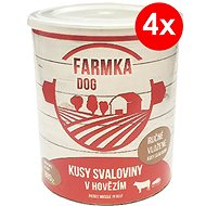 FARMKA DOG 800g with Muscle, 4 pcs - Canned Dog Food