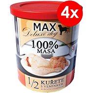 MAX deluxe 1/2 kuřete s vemínkem 800 g, 4 ks