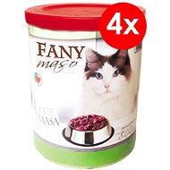 FANY maso 800 g, 4 ks - Konzerva pro kočky