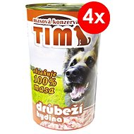 TIM Poultry 1200g, 4 pcs - Canned Dog Food