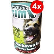 TIM 1200g with Marrow Bone, 4 pcs - Canned Dog Food