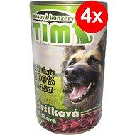 TIM 1200 g dršťková, 4 ks - Konzerva pro psy