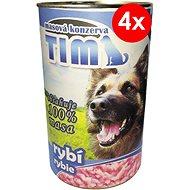 TIM 1200 g rybí, 4 ks - Konzerva pro psy
