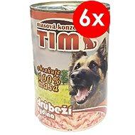 TIM 400g drůbeží, 6ks - Konzerva pro psy
