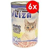 LÍZA 400 g rybí, 6 ks - Konzerva pro kočky