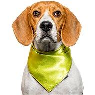 Chiweto Jackie S, zelená neon - Šátek pro psy