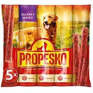Pamlsky pro psy Propesko salamies hovězí 55 g - Pamlsky pro psy