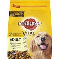 Pedigree granule Adult kuřecí a zeleninou 2,6 kg - Granule pro psy