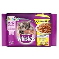 Whiskas Casserole kapsička výběr drůbeží v želé pro koťata 4 × 85 g - Kapsička pro kočky