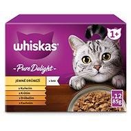 Whiskas Casserole kapsička drůbeží výběr v želé pro dospělé kočky 12 × 85 g - Kapsička pro kočky