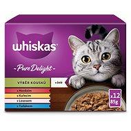 Whiskas Casserole kapsička mixovaný výběr v želé pro dospělé kočky 12 × 100 g