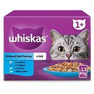 Whiskas kapsička rybí výběr v želé pro dospělé kočky 12 × 100 g - Kapsička pro kočky