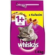 Whiskas granule kuřecí pro dospělé kočky 1,4 kg - Granule pro kočky