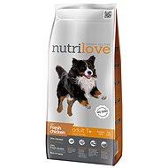 Nutrilove ADULT L fresh chicken 3 kg - Granule pro psy