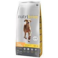 Nutrilove ACTIVE fresh chicken 3 kg - Granule pro psy